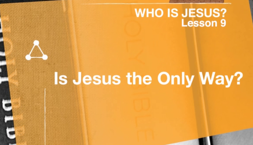 Who Is Jesus S9.1